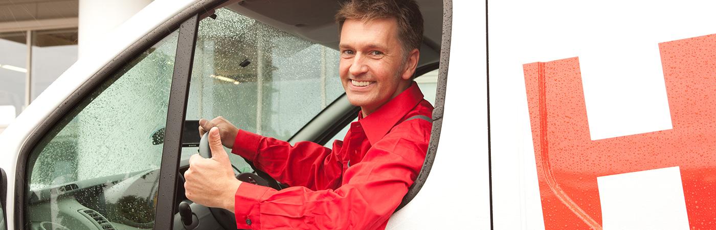 Heizungswartung Fahrer Raatschen