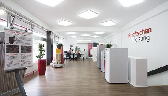Ausstellungsräume Heizungen Dortmund