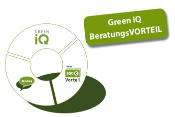 GreenIQ-Beratungsvorteil