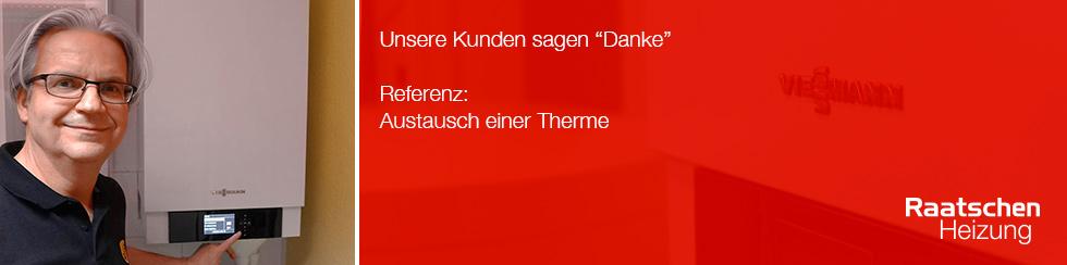 Banner Thermen Tausch Viessmann
