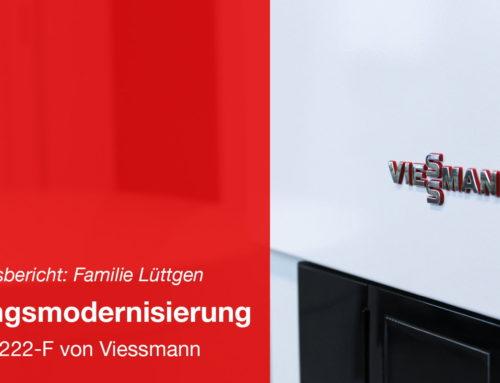 Modernisierung der Heizung – Viessmann Paket: Vitodens 222-F 19,0 kW