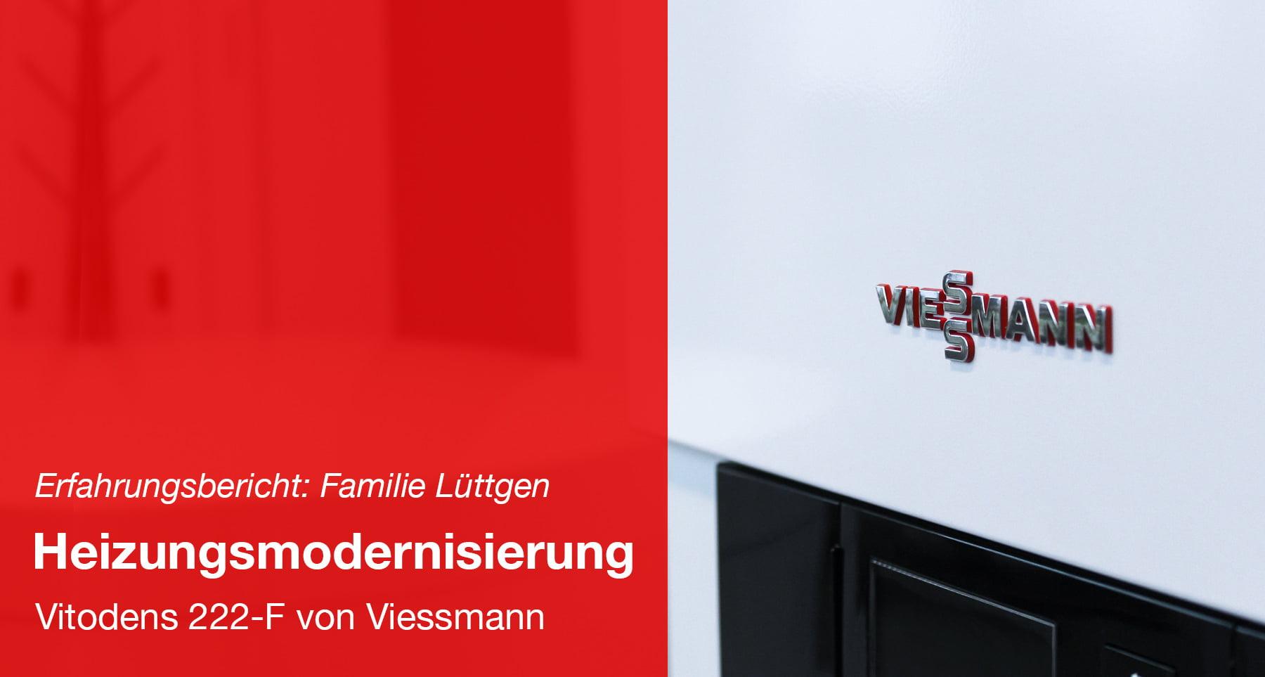 Modernisierung der Heizung - Viessmann Paket: Vitodens 222-F 19,0 kW
