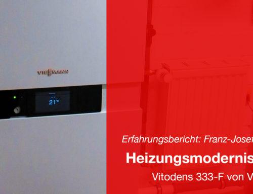 Modernisierung der Heizung – Vitodens 333-F von Viessmann