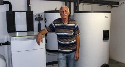 Die neue Erd-Wärmepumpe nach der Modernisierung