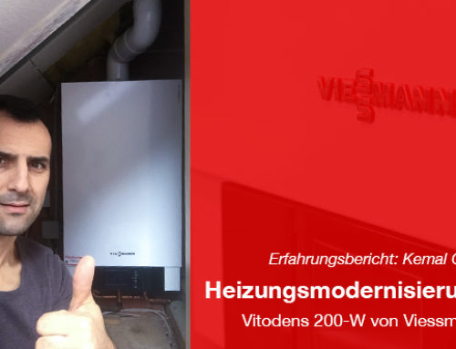Modernisierung der Heizung – Vitodens 200-W von Viessmann